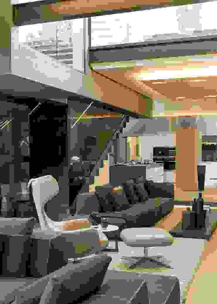 House Sar Modern living room by Nico Van Der Meulen Architects Modern