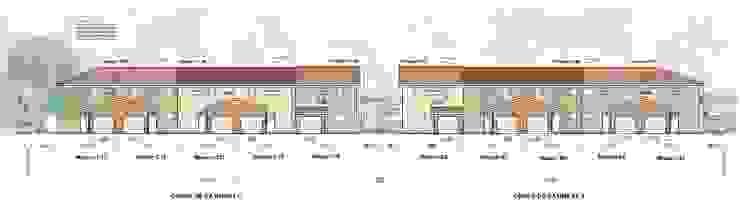 Collectif de 13 logements : CORBAS par b2m-architecture