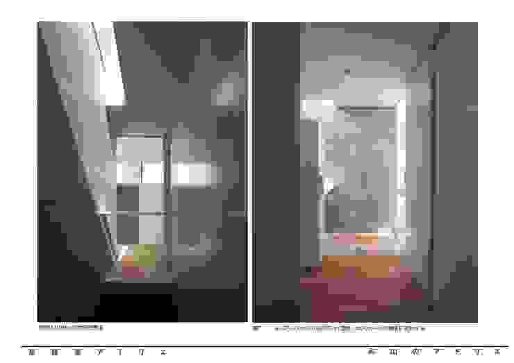 烏山のアトリエ モダンスタイルの 玄関&廊下&階段 の 泉建築アトリエ(izumi architects) モダン