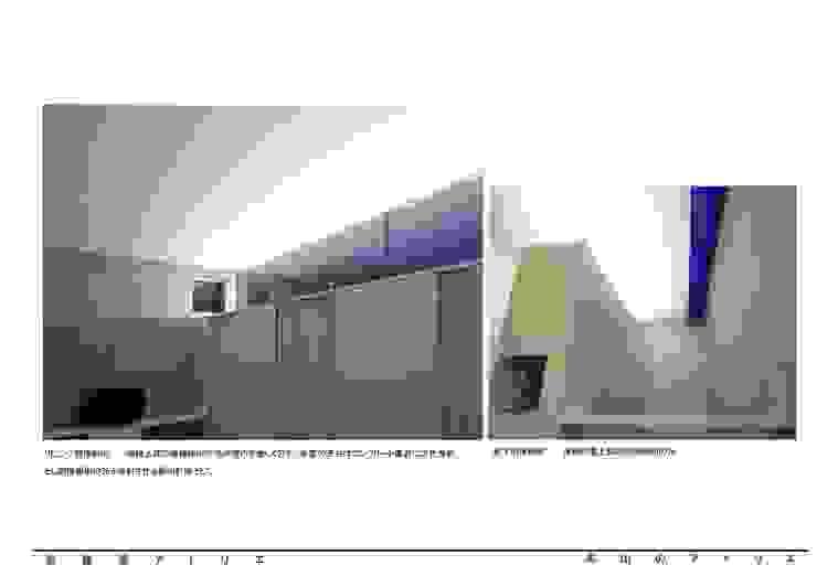 烏山のアトリエ: 泉建築アトリエ(izumi architects) が手掛けた現代のです。,モダン