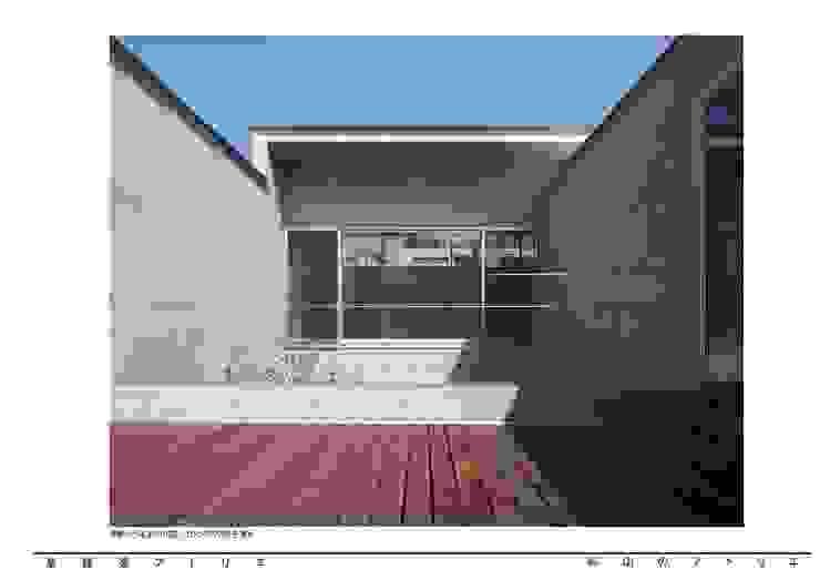 烏山のアトリエ モダンデザインの テラス の 泉建築アトリエ(izumi architects) モダン