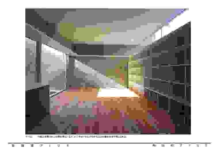 烏山のアトリエ モダンデザインの 多目的室 の 泉建築アトリエ(izumi architects) モダン