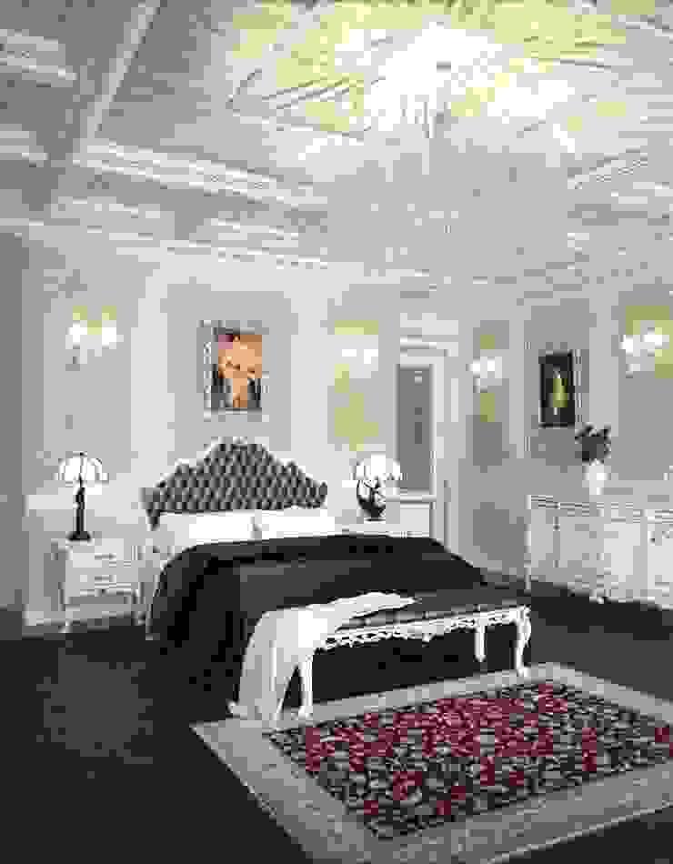 Спальня в классическом стиле Спальня в классическом стиле от Студия архитектуры и дизайна ДИАЛ Классический