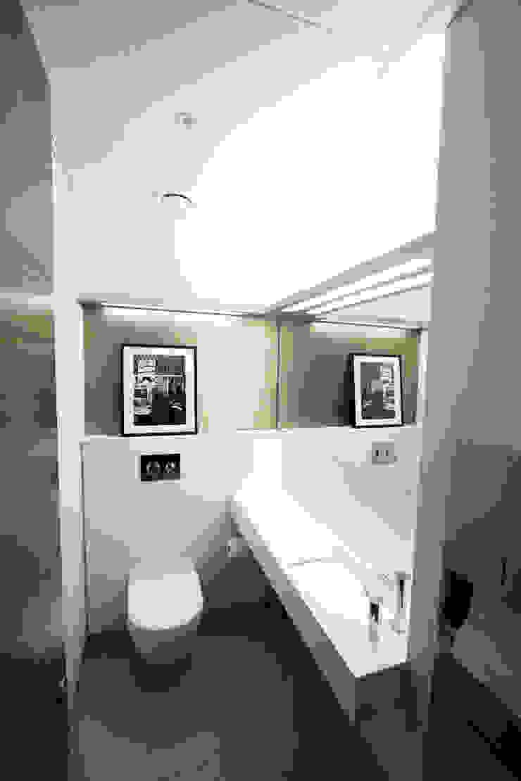 Grosvenor Hill Minimalistische kantoorgebouwen van Not Only White B.V. Minimalistisch