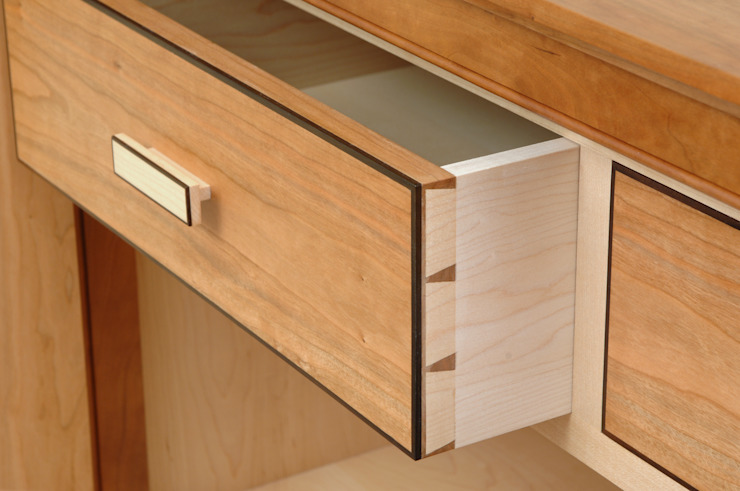 Detail of Drawer: modern  by Martin Greshoff Furniture, Modern