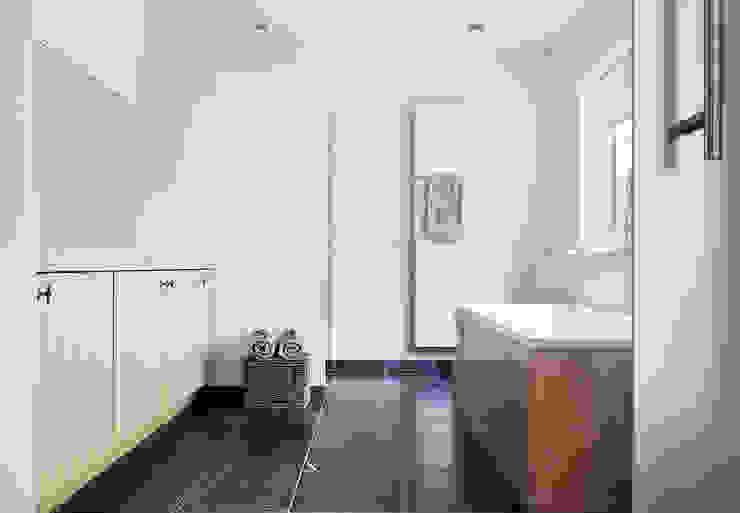Woonhuis Berkel Enschot badkamer en suite Interieurvormgeving Inez Burvenich Moderne badkamers
