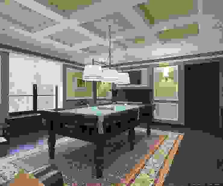 Бильярдная в классическом стиле Гостиная в классическом стиле от Студия архитектуры и дизайна ДИАЛ Классический