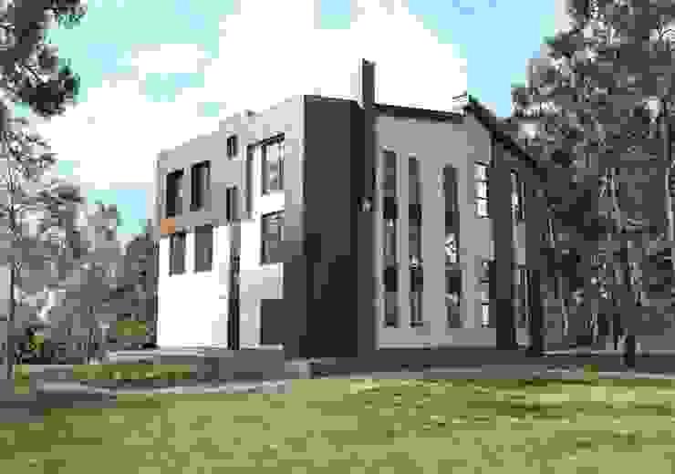 Коттедж в современном стиле Дома в скандинавском стиле от Студия архитектуры и дизайна ДИАЛ Скандинавский