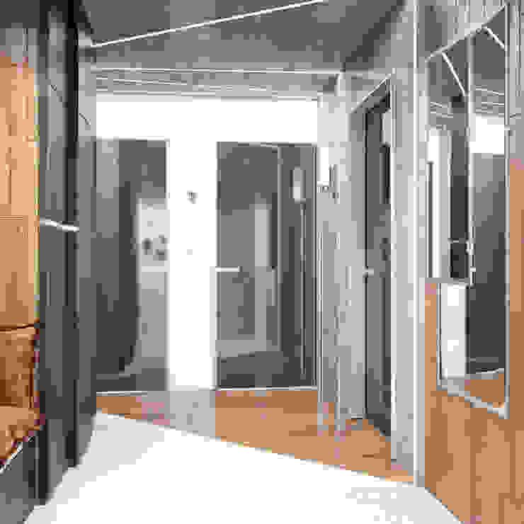 Квартира в современном стиле Стены и пол в стиле лофт от Студия архитектуры и дизайна ДИАЛ Лофт