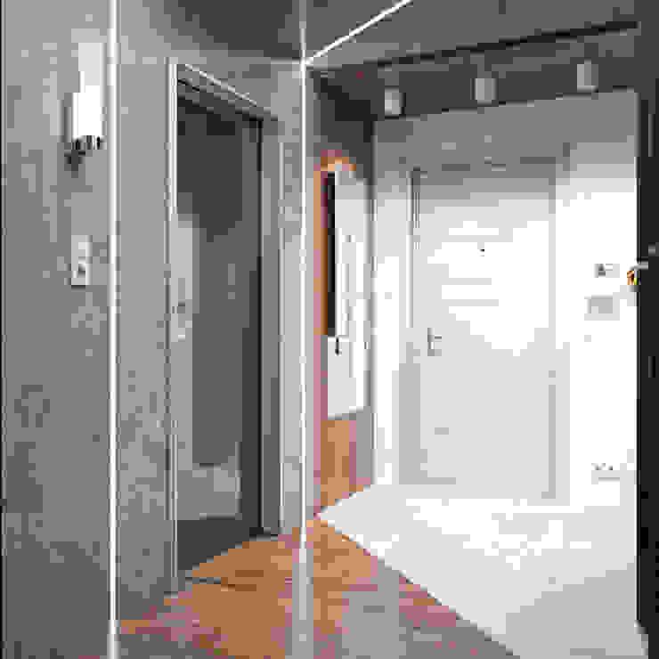 Квартира в современном стиле Коридор, прихожая и лестница в стиле лофт от Студия архитектуры и дизайна ДИАЛ Лофт
