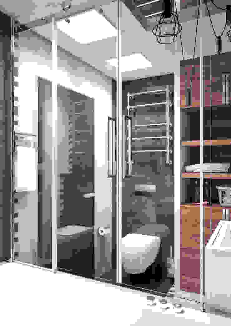 Квартира в современном стиле Ванная в стиле лофт от Студия архитектуры и дизайна ДИАЛ Лофт