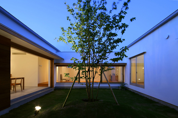 من 松原建築計画 / Matsubara Architect Design Office إسكندينافي خشب Wood effect