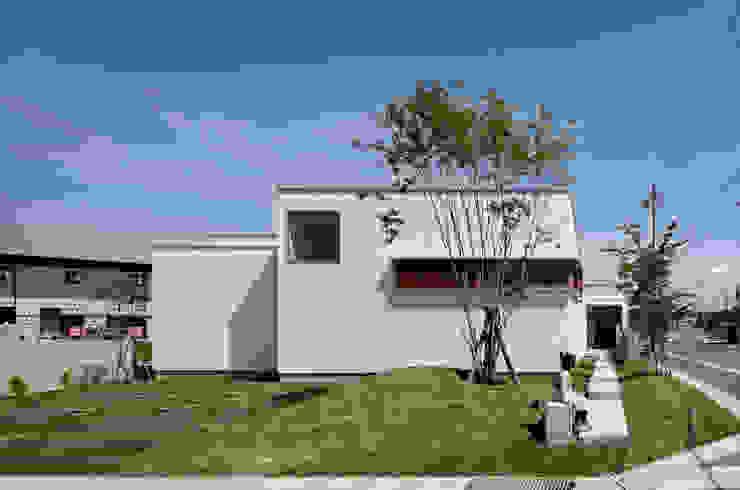 ファサード の 松原建築計画 一級建築士事務所 / Matsubara Architect Design Office 北欧 木 木目調