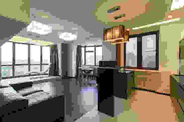 Частный интерьер – Современный минимализм Кухня в стиле минимализм от Andrey Gulyaev Architects Минимализм