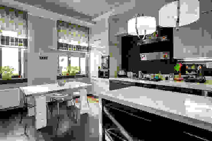 Кухня-столовая: Кухни в . Автор – Студия Искандарова,