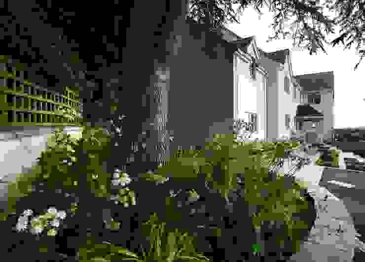 Shady Underplanting Under Tree Jardins modernos por Katherine Roper Landscape & Garden Design Moderno