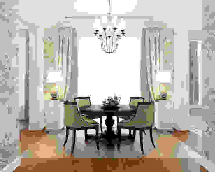 Столовая комната Столовая комната в классическом стиле от Студия Искандарова Классический