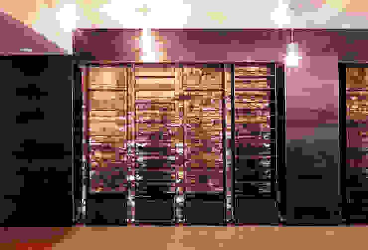 5 il bar, espositori in lamiera di ferro Gastronomia in stile moderno di mag.MA architetture Moderno
