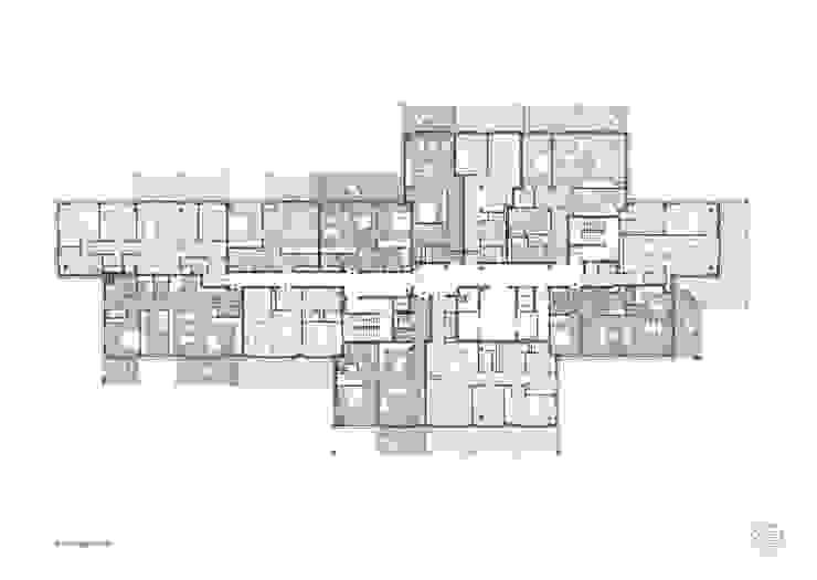 Grundriss und Möblierungsplan von Maske + Suhren Gesellschaft von Architekten mbh