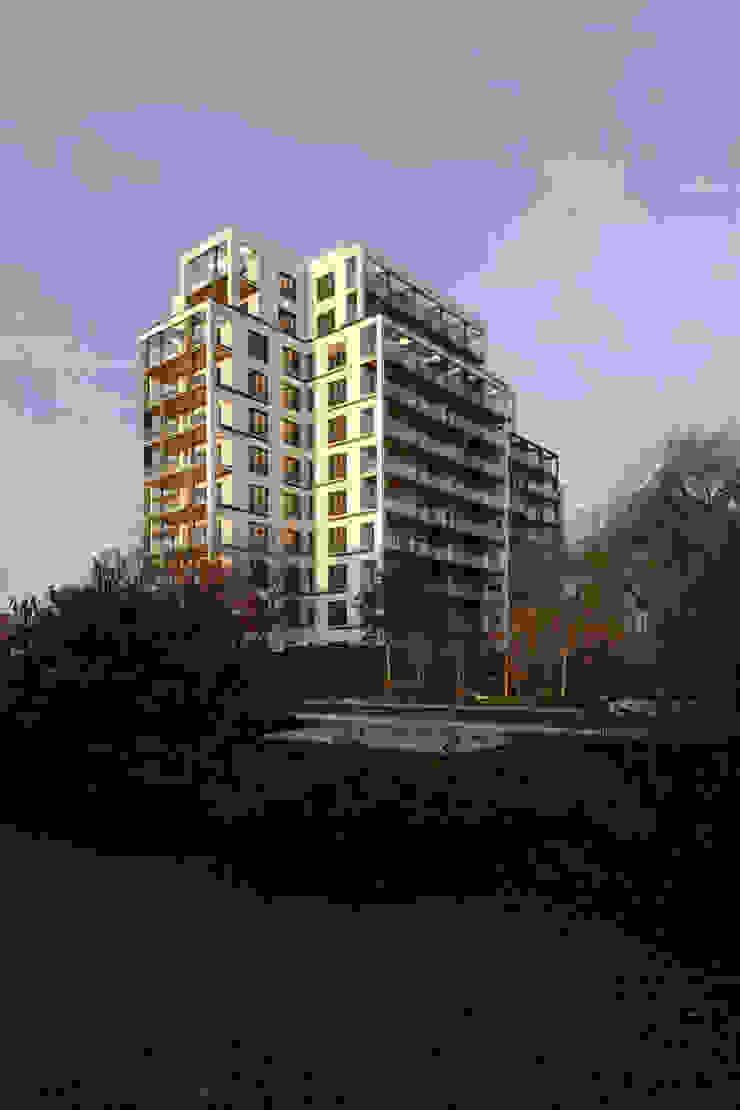 Fassade nach Umbau von Maske + Suhren Gesellschaft von Architekten mbh