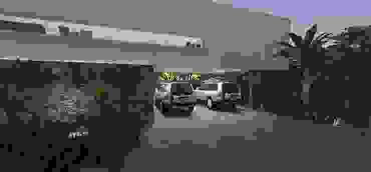 Casa JA Casas minimalistas por ZAAV Arquitetura Minimalista