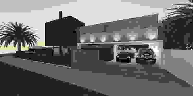 Minimalist house by ZAAV Arquitetura Minimalist