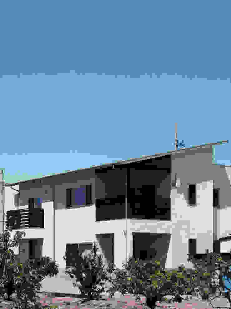 馬木の家 House in Umaki,Matsuyama モダンな 家 の wada architectural design office 和田設計 モダン