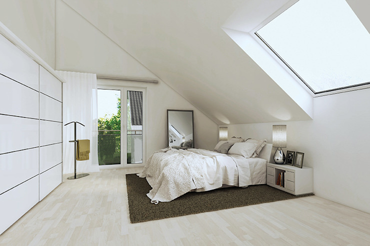 Modern style bedroom by iHaus Modern