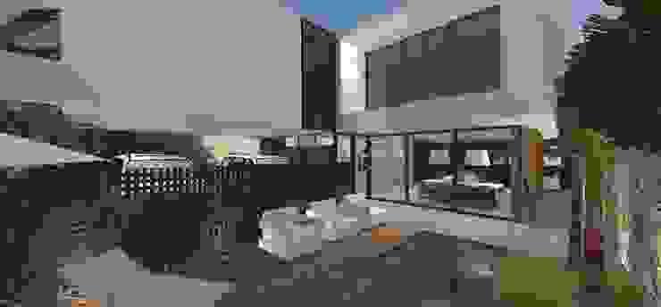 Casa JA Piscinas minimalistas por ZAAV Arquitetura Minimalista