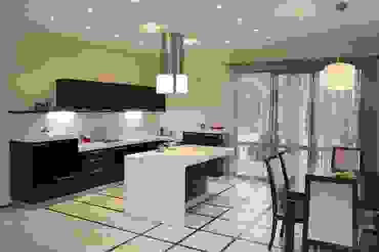 Кухня-столовая с островом Столовая комната в эклектичном стиле от Дизайн В Стиле Эклектичный