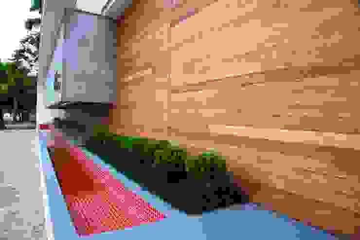 Jardines de estilo  por ZAAV Arquitetura, Minimalista