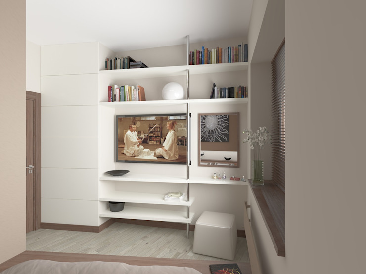 TOPOS Minimalist bedroom