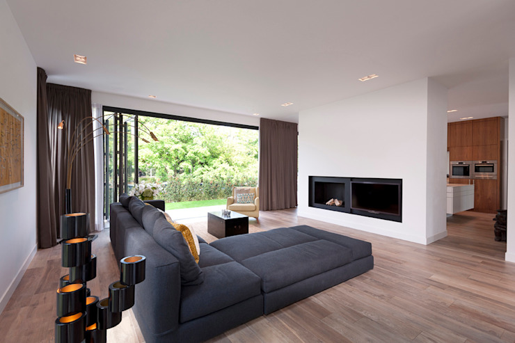 paul seuntjens architectuur en interieur Modern living room