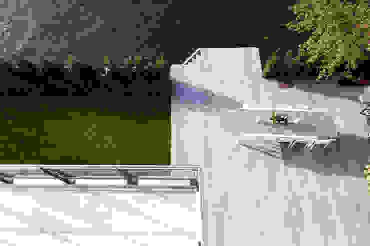 Сад в стиле модерн от paul seuntjens architectuur en interieur Модерн