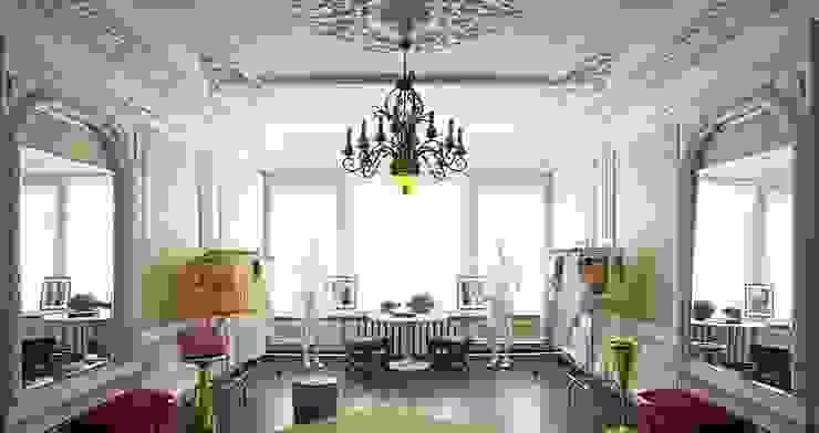 Бутик в исторических интерьерах от Atelier Interior Эклектичный