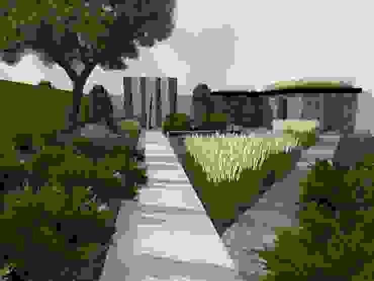 projekt ogrodu nowoczesnego od STYLOWE OGRODY