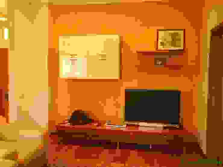 солнечный Гостиная в стиле модерн от TOPOS Модерн