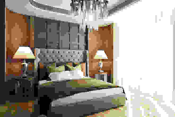 Номер гостиницы, арт-деко Гостиницы в эклектичном стиле от BEINDESIGN Эклектичный