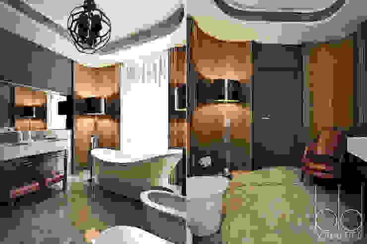 Ванная комната, арт-деко Ванная комната в эклектичном стиле от BEINDESIGN Эклектичный