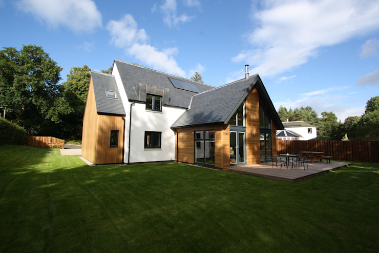 Alvadell - South West Modern houses by Fiddes Architects Modern