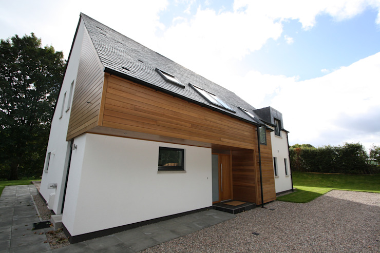 Alvadell - North East Modern houses by Fiddes Architects Modern