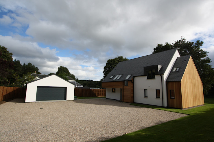 Alvadell - North Modern houses by Fiddes Architects Modern
