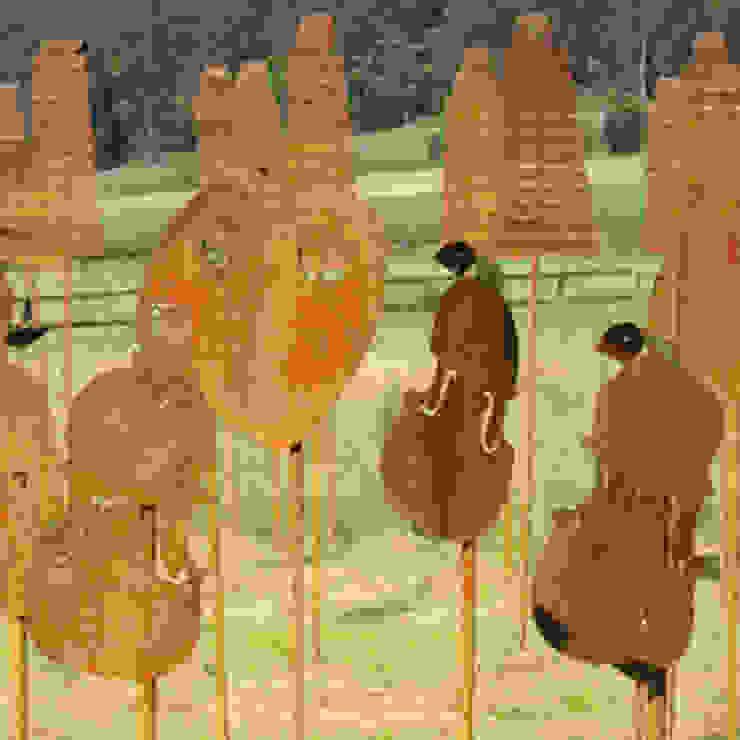 Nieheim Rustic style garden by Petherick, Urquhart & Hunt Landscape Consultancy Rustic