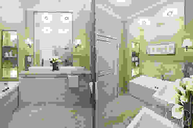 Ванная комната Ванная в классическом стиле от BEINDESIGN Классический