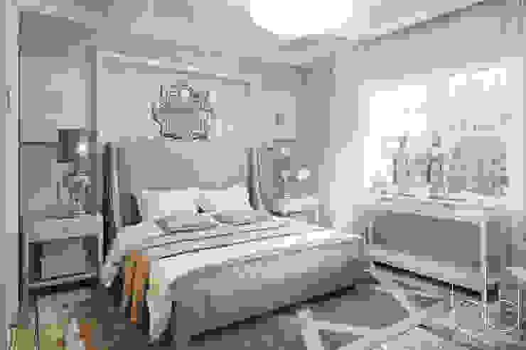 Частный дом, коттеджный поселок <q>Стольный</q> Спальня в классическом стиле от BEINDESIGN Классический