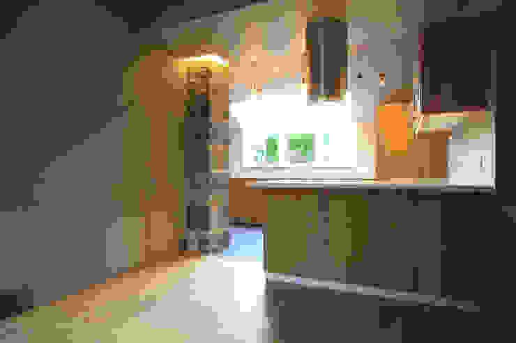 Monaltrie House Modern kitchen by Fiddes Architects Modern