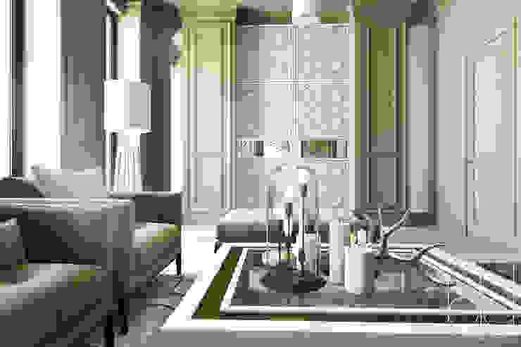 Частный дом, Новые Вешки, гостиная Гостиная в классическом стиле от BEINDESIGN Классический