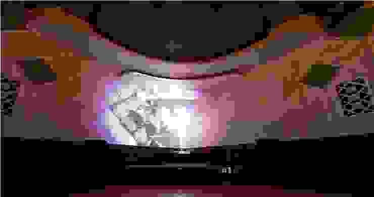 Cine Jóia Centros de congressos modernos por MM18 Arquitetura Moderno