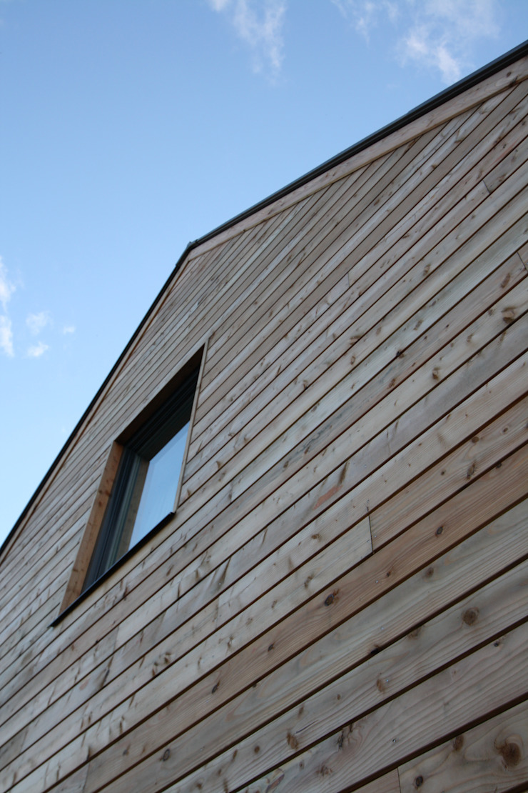 Wellfield Modern houses by Fiddes Architects Modern