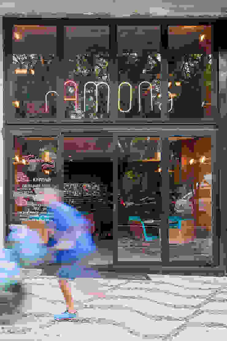 Fachada Espaços gastronômicos modernos por MM18 Arquitetura Moderno